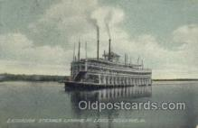 shi075212 - Bellevue, Iowa USA Ferry Boats, Ship, Ships, Postcard Post Cards