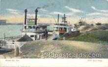 shi075214 - Kansas City, MO USA Scene Ferry Boats, Ship, Ships, Postcard Post Cards