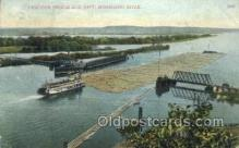 shi075217 - Pontoon Bredge And Raft Ferry Boats, Ship, Ships, Postcard Post Cards