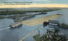 shi075218 - Rafting On The Mississippi Ferry Boats, Ship, Ships, Postcard Post Cards