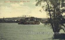 shi075223 - STR Red Wing Landing Ferry Boats, Ship, Ships, Postcard Post Cards