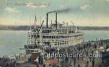 shi075225 - Steamboat Landing Ferry Boats, Ship, Ships, Postcard Post Cards