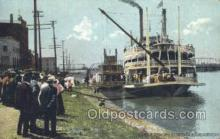 shi075230 - JS Excursion Steamer Ferry Boats, Ship, Ships, Postcard Post Cards