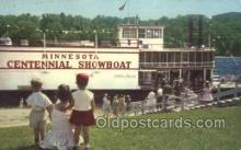 shi075233 - Minnesota Centennial Showboat Ferry Boats, Ship, Ships, Postcard Post Cards