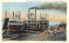 shi075237 - Mississippi River Steamers Ferry Boats, Ship, Ships, Postcard Post Cards