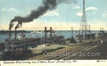 shi075241 - Excursion Boat leaving Foot Of Main Street Ferry Boats, Ship, Ships, Postcard Post Cards