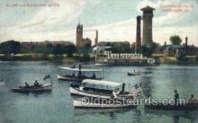 shi075249 - Scene On Kankakee River Ferry Boats, Ship, Ships, Postcard Post Cards