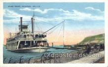 shi075251 - River Front Hannibal MO. USA Ferry Boats, Ship, Ships, Postcard Post Cards