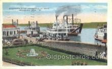 shi075255 - Vicksburg, Mississippi, USA Ferry Boats, Ship, Ships, Postcard Post Cards