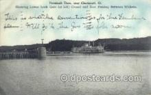 shi075261 - Fernbank Dam OH USA Ferry Boats, Ship, Ships, Postcard Post Cards
