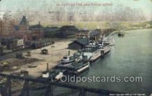 shi075265 - St Paul Levee And Union Deport Ferry Boats, Ship, Ships, Postcard Post Cards