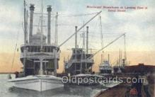 shi075268 - Mississippi Steamboats At Landing Of Canal St Ferry Boats, Ship, Ships, Postcard Post Cards