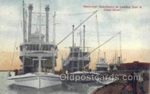 shi075269 - Mississippi Steamboats At Landing Of Canal St Ferry Boats, Ship, Ships, Postcard Post Cards