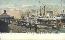 shi075270 - Mississippi River Steamers Ferry Boats, Ship, Ships, Postcard Post Cards