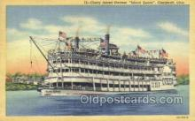 shi075293 - Island Queen Ferry Boats, Ship, Ships, Postcard Post Cards