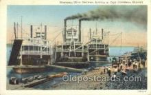 shi075295 - Mississippi River Steamers Ferry Boats, Ship, Ships, Postcard Post Cards