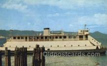 shi075303 - Astoria Megler Ferry Ferry Boats, Ship, Ships, Postcard Post Cards