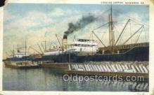 shi075314 - Loading Cotton     Ferry Boats, Ship, Ships, Postcard Post Cards