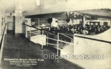 shi075316 - Edge Water Beach Yacht Club, Edgewater Beach Hotel Ferry Boats, Ship, Ships, Postcard Post Cards