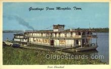 shi075334 - River Showboat Ferry Boats, Ship, Ships, Postcard Post Cards