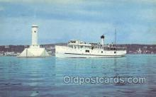 shi075338 - The Algoma Ferry Boats, Ship, Ships, Postcard Post Cards