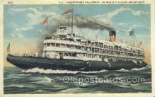 shi075341 - SS Christopher Columbus Ferry Boats, Ship, Ships, Postcard Post Cards