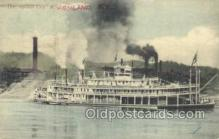 shi075351 - Ashland, Kentucky, USA, The Queen City Ferry Boats, Ship, Ships, Postcard Post Cards