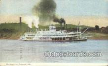 shi075353 - The Queen City Ferry Boats, Ship, Ships, Postcard Post Cards