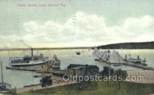 shi075355 - Public Docks Ferry Boats, Ship, Ships, Postcard Post Cards
