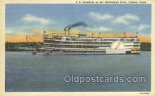 shi075358 - SS President Ferry Boats, Ship, Ships, Postcard Post Cards