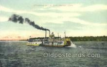 shi075372 - Ottumwa Belle Ferry Boats, Ship, Ships, Postcard Post Cards