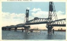 shi075381 - Hathorne Bridge Ferry Boats, Ship, Ships, Postcard Post Cards