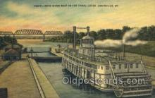 shi075385 - Ohio River Boat Ferry Boats, Ship, Ships, Postcard Post Cards