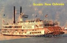 shi075386 - Scenic New Orleans Ferry Boats, Ship, Ships, Postcard Post Cards