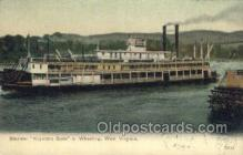 shi075399 - Keystone State, Wheeling, West Virginia, USA Ferry Boats, Ship, Ships, Postcard Post Cards