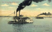 shi075401 - Mark Twain, St. Louis, Mo. USA Ferry Boats, Ship, Ships, Postcard Post Cards