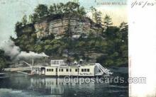 shi075413 - Starved Rock, ILL USA Ferry Boats, Ship, Ships, Postcard Post Cards