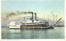 shi075415 - Mississippi River Steamboats Ferry Boats, Ship, Ships, Postcard Post Cards