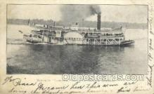 shi075418 - Liberty The Chautaucua Express Ferry Boats, Ship, Ships, Postcard Post Cards
