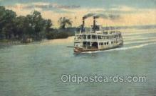 shi075427 - Keokuk Ferry Boats, Ship, Ships, Postcard Post Cards