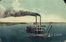 shi075430 - Josephine, Sioux City, Iowa, USA Ferry Boats, Ship, Ships, Postcard Post Cards