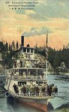 shi075440 - I.&W.N. Excursions Ferry Boats, Ship, Ships, Postcard Post Cards