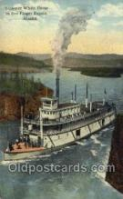 shi075441 - Steamer White Horse Ferry Boats, Ship, Ships, Postcard Post Cards