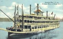 shi075443 - Steamer J.S.  Ferry Boats, Ship, Ships, Postcard Post Cards