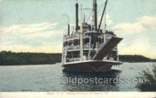shi075444 - Steamer J.S.  Ferry Boats, Ship, Ships, Postcard Post Cards