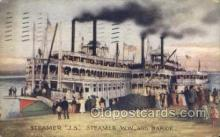 shi075446 - Steamer J.S.  Ferry Boats, Ship, Ships, Postcard Post Cards