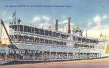 shi075449 - Steamer J.S.  Ferry Boats, Ship, Ships, Postcard Post Cards
