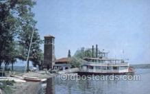 shi075450 - Chautauqua Belle Ferry Boats, Ship, Ships, Postcard Post Cards