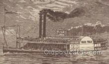 shi075460 - Mark Twain Ferry Boats, Ship, Ships, Postcard Post Cards
