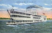 shi075463 - Steamer J.S.  Ferry Boats, Ship, Ships, Postcard Post Cards